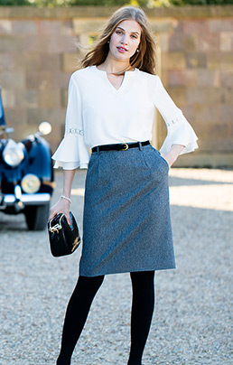 Classic Flannel Skirt