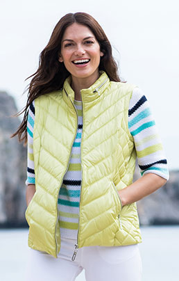 MARBLE QUILT GILET