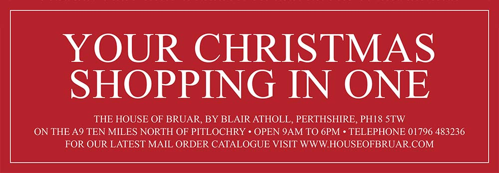 The House of Bruar Annual Sale Friday 9th - Sunday 11th November