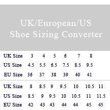 British Shoe Size To Usa