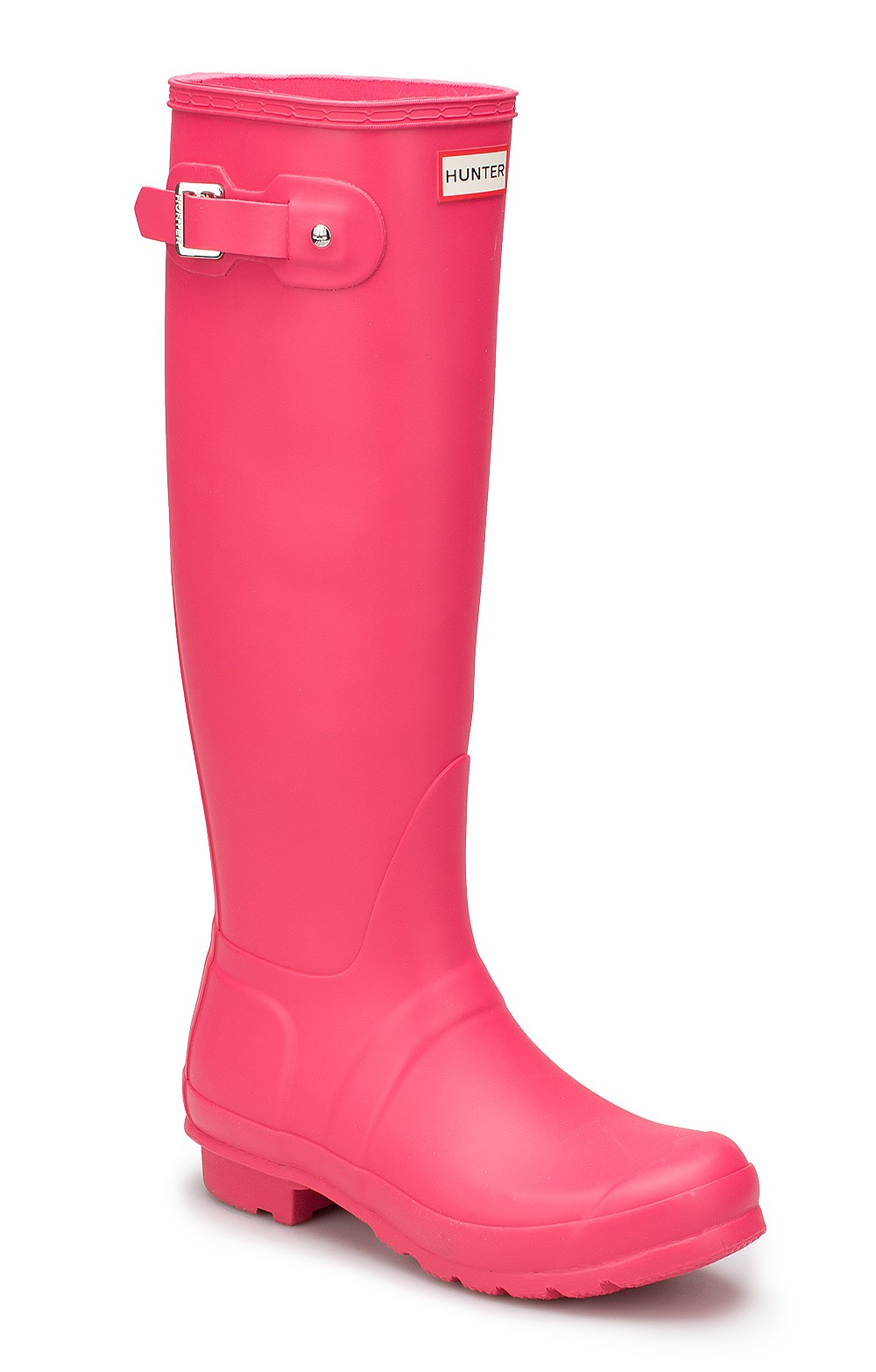 Original Hunter Matt Wellies pink