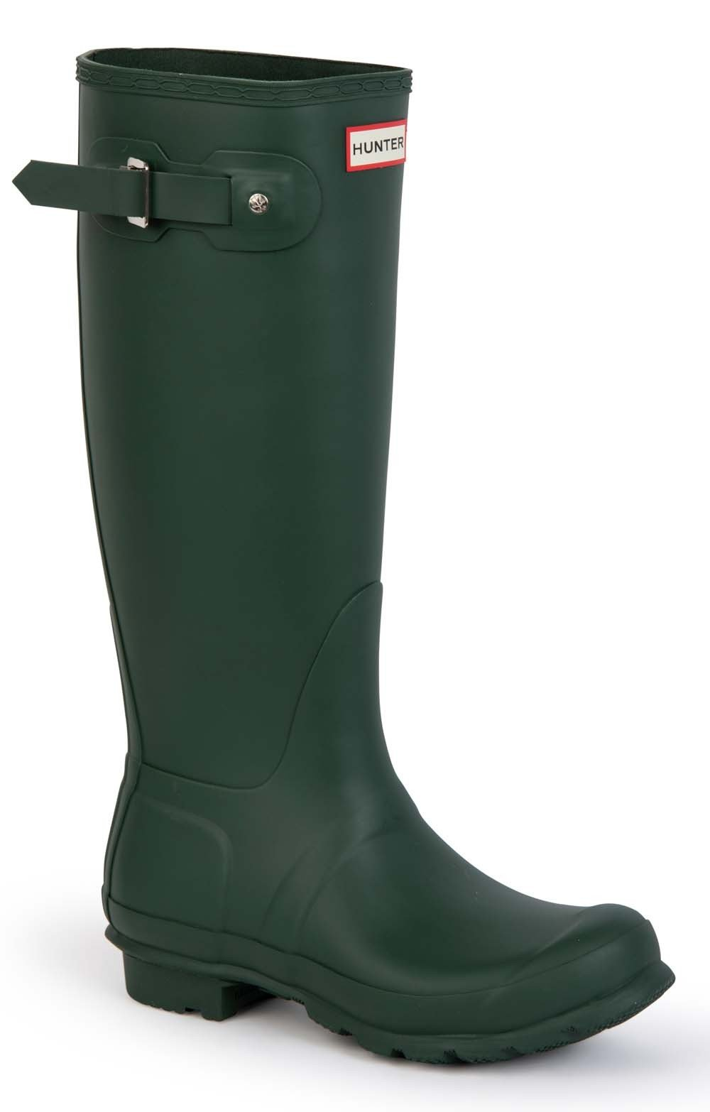 Original Hunter Matt Wellies green