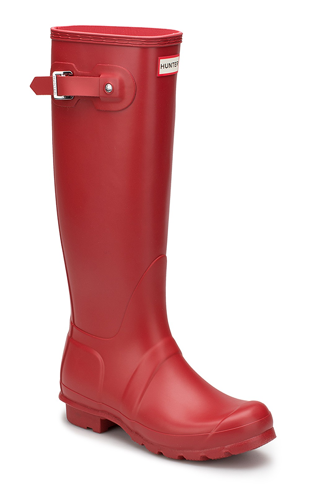 Original Hunter Matt Wellies red