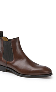 House of Bruar mens leather Chelsea boot chestnut leather country fashion