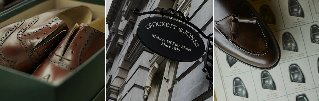 Crockett and Jones archive images makers of shoes since 1879