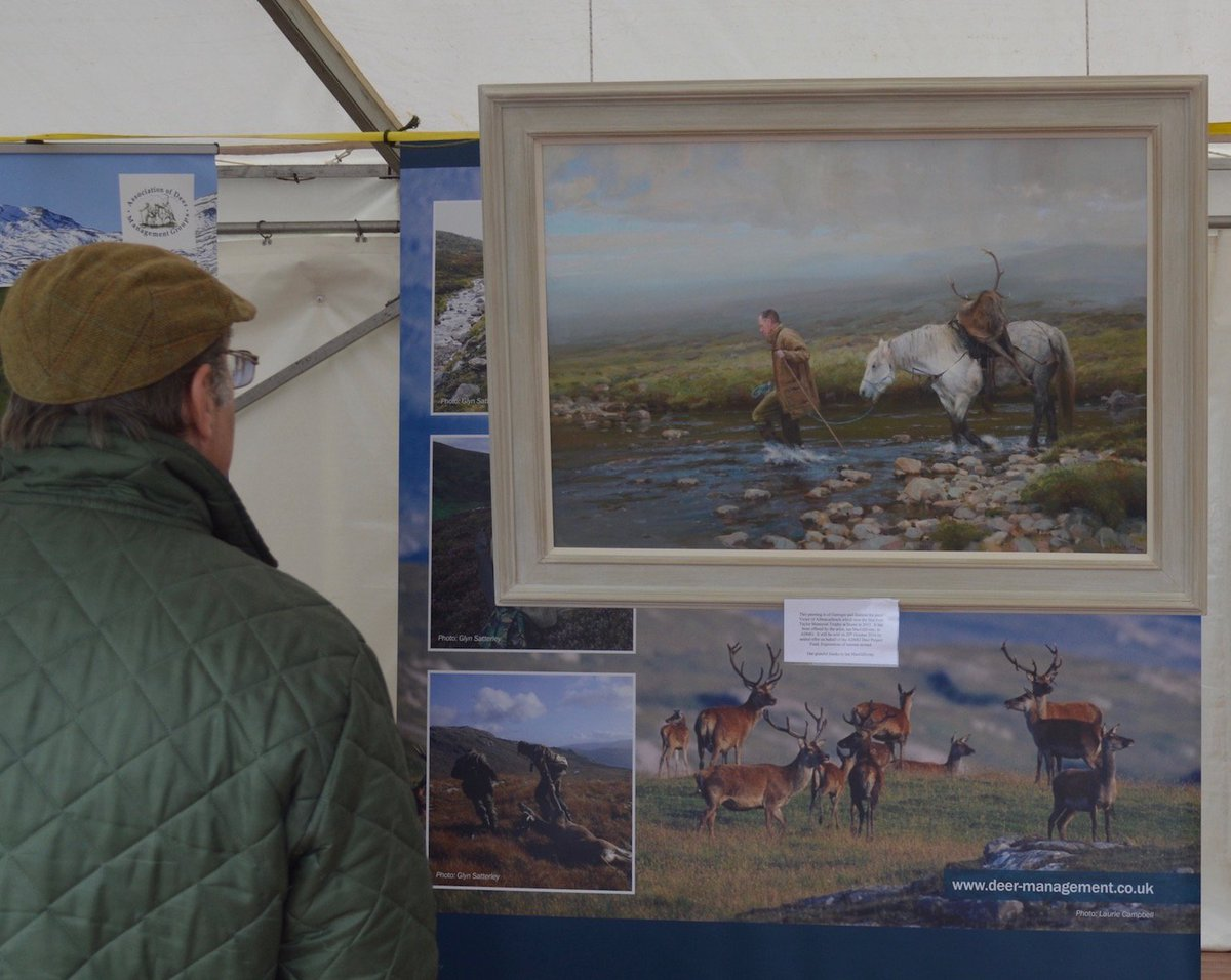 Ian Macgillivray 'across the burn' the assocation of deer management groups