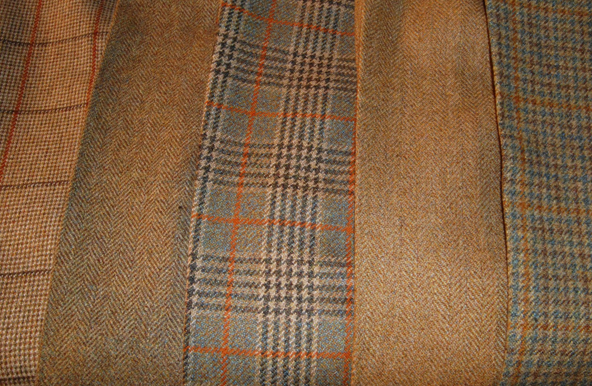 House of Bruar estate tweeds for fieldsports, gamekeepers in heavyweight wool