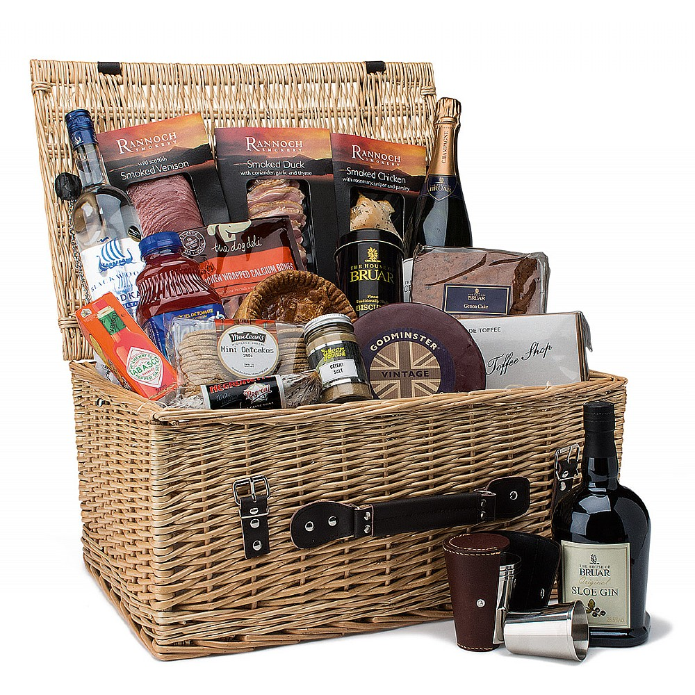 house of bruar shooting hamper full of luxurious goods