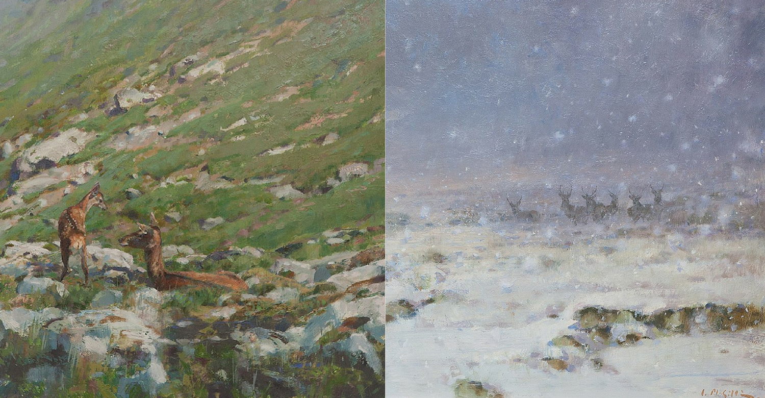 Ian MacGillivray 'four seasons' spring and winter