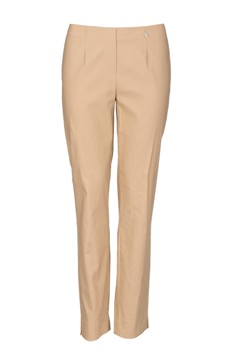 Robell stretch trousers in Camel