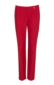 Robell stretch trousers in Red