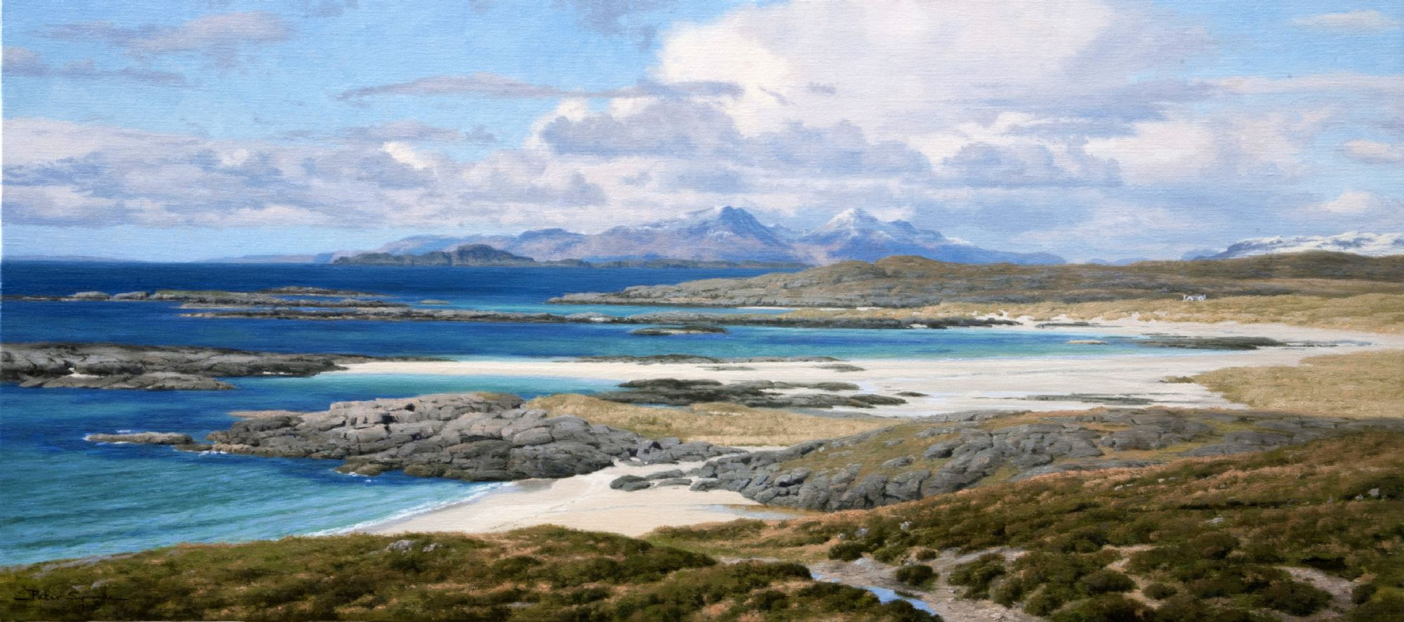 Peter Symonds artist Scottish landscapes wild places natural environment