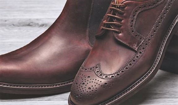House of Bruar Leather shoe care brogues and chelsea boot men's