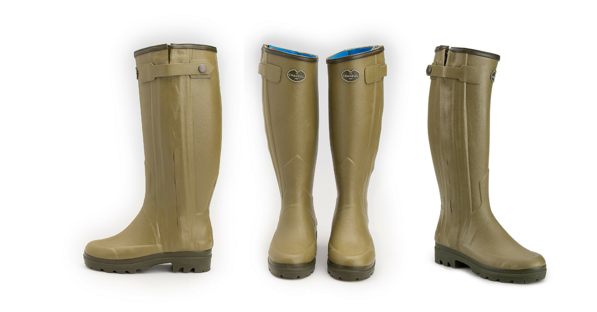 Le chameau chasseur ladies side zip wellies