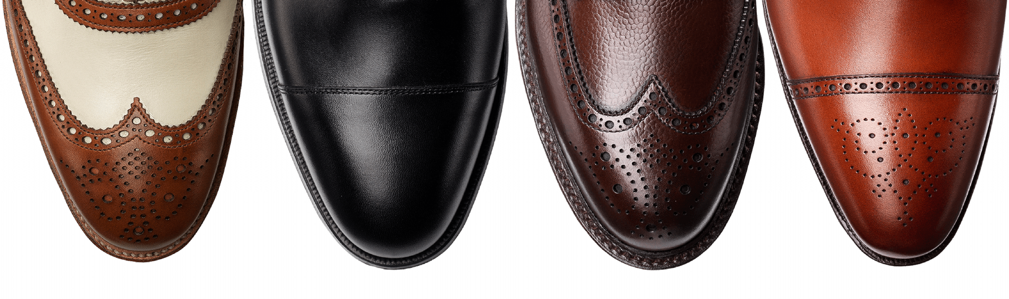 Crockett and Jones men's leather footwear loved byt The Prince of Wales and James Bond