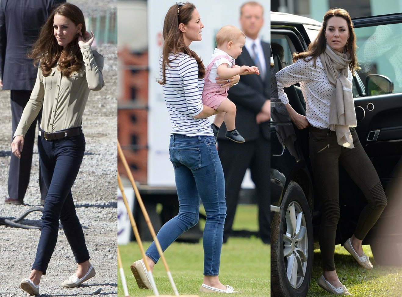 house of bruar kate middleton duchess of cambridge wearing sebago bala shoe