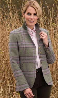 Marton Mills Yorkshire pure new wool mill tweed British country fashion clothing
