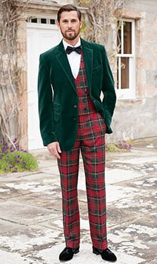 Mallalieus of Delph Yorkshire pure new wool mill tweed British country fashion menswear plaid