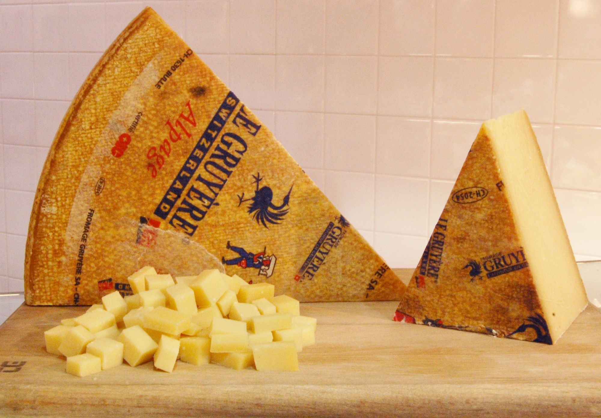 Le Gruyere Alpage AOP cheese house of bruar delicatessen counter