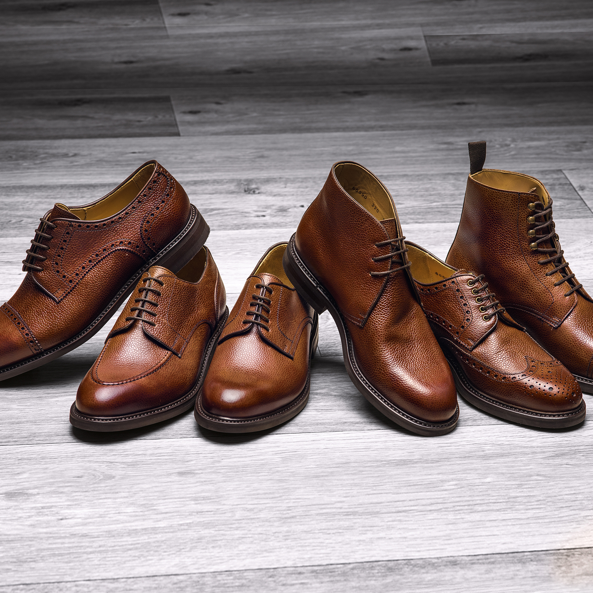 Leather Footwear Styles