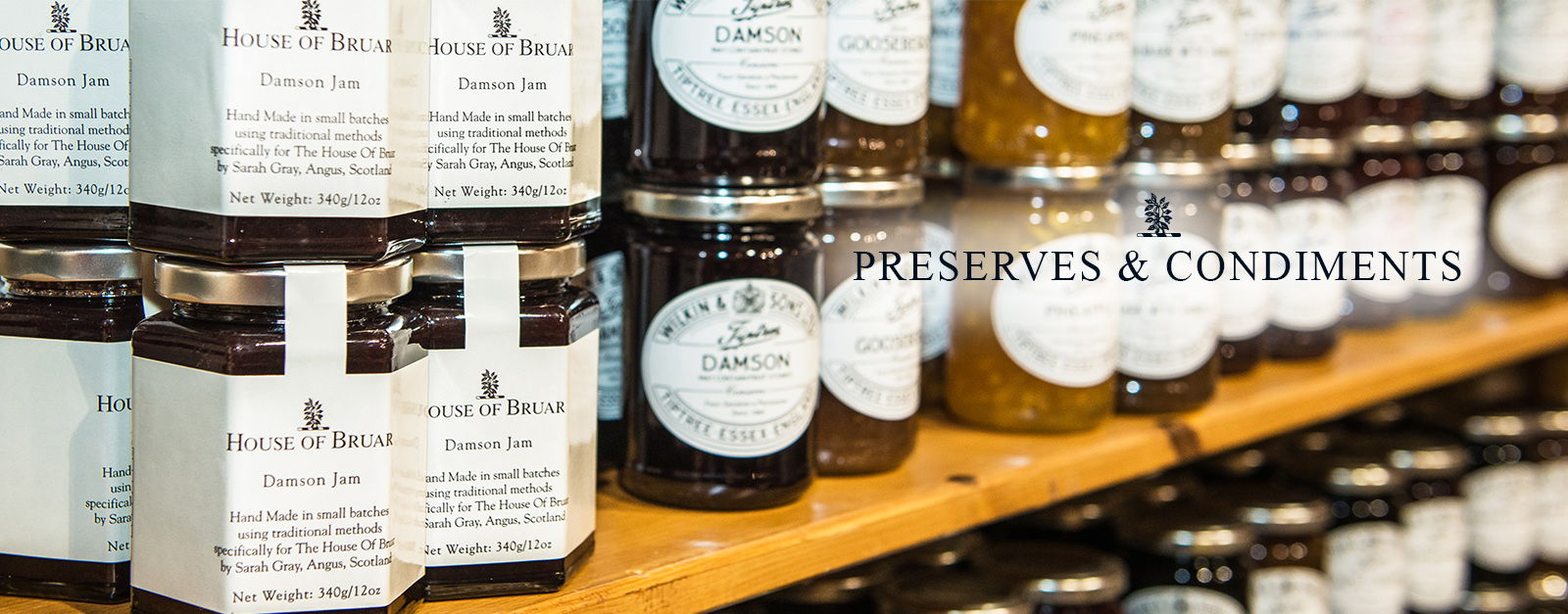Preserves & Condiments