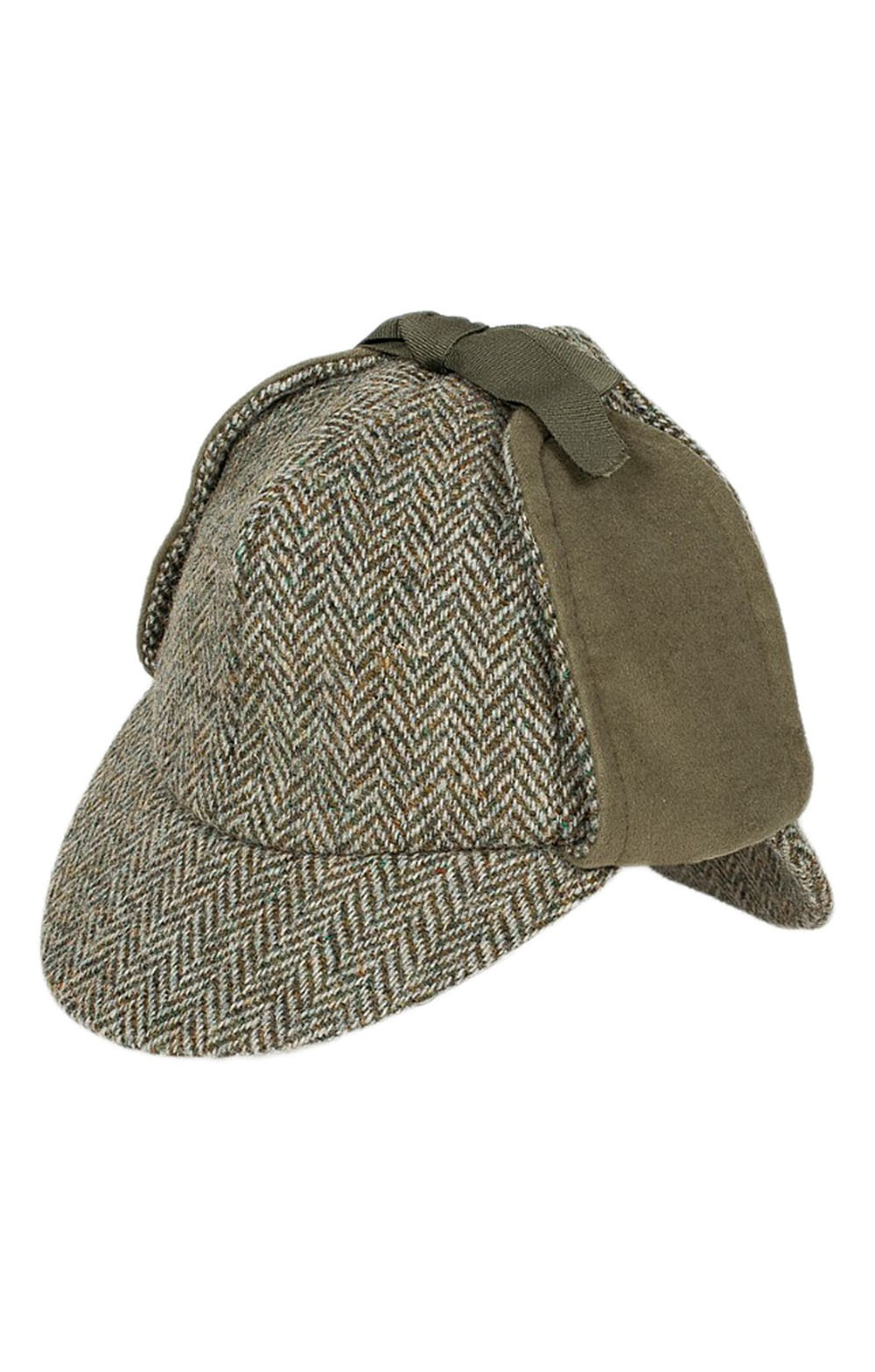Harris Tweed Deerstalker Hat - House of Bruar 373798867b3
