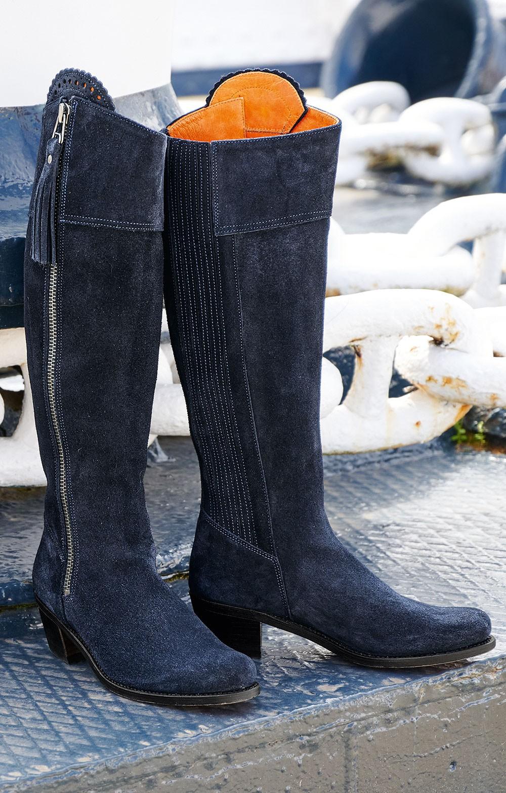 Ladies Suede Riding Boot - House of Bruar