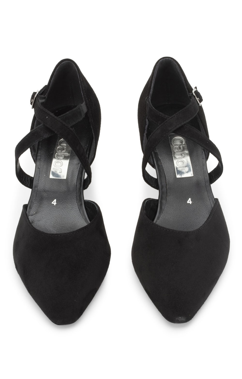 Ladies Gabor Strappy Mid Heel Sandal