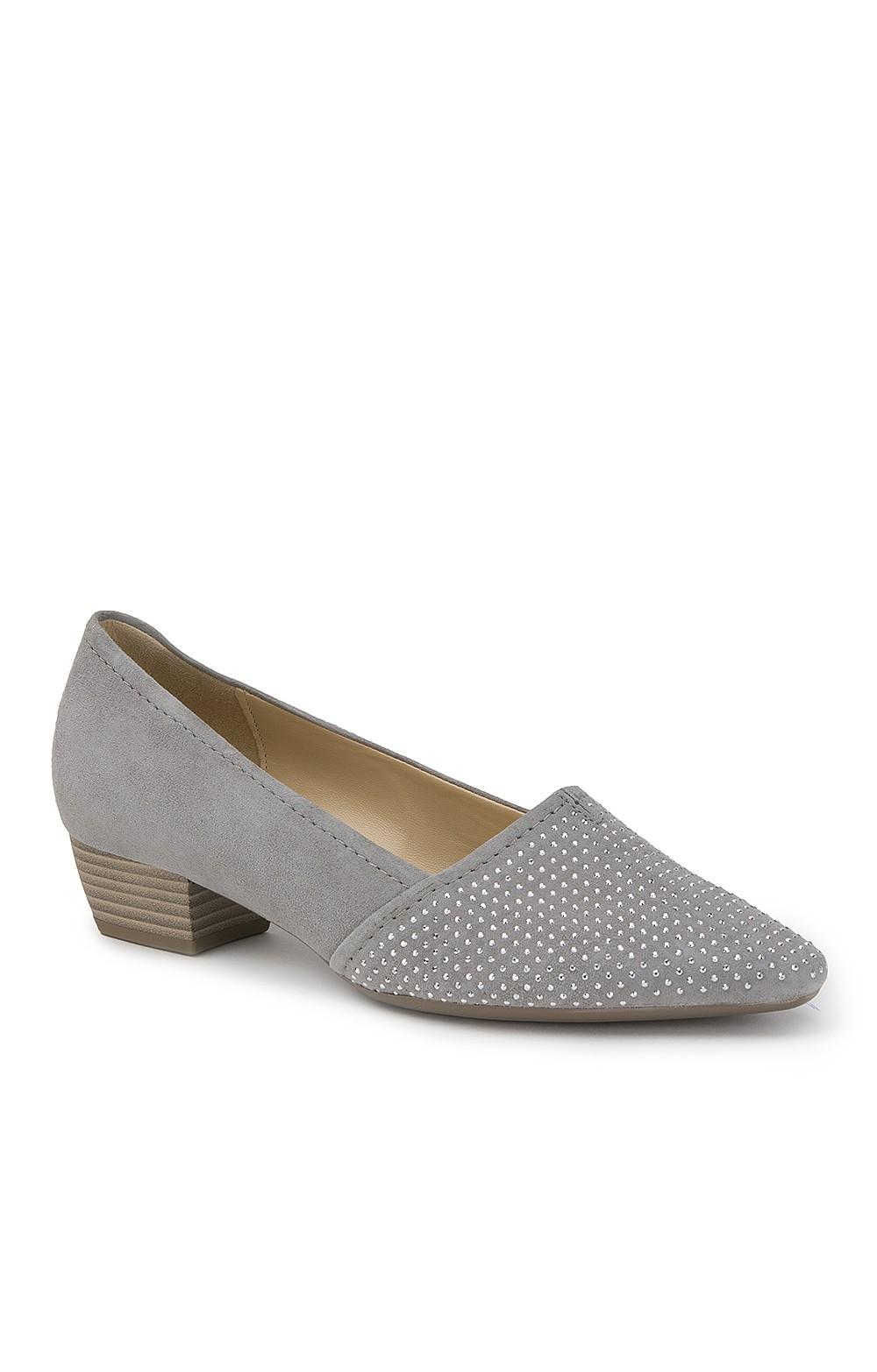 187222e0a802e Gabor Sequin Toe Shoe | Ladies Suede Shoes | House Of Bruar