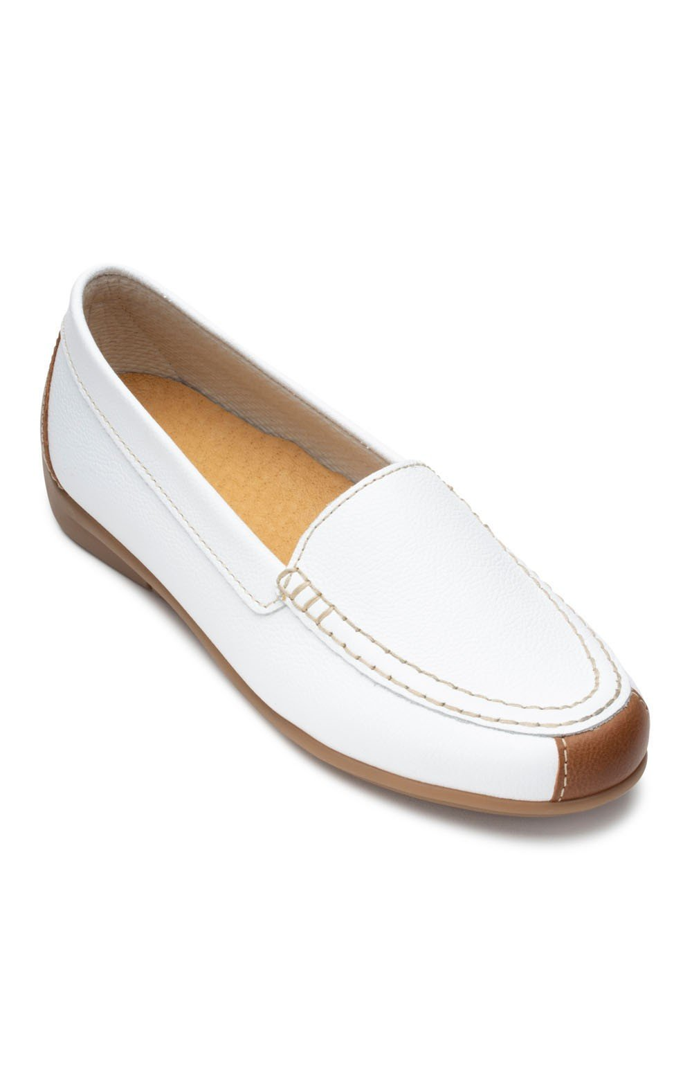 686877a528a01 Ladies Gabor Nubuck Moccasin - House of Bruar