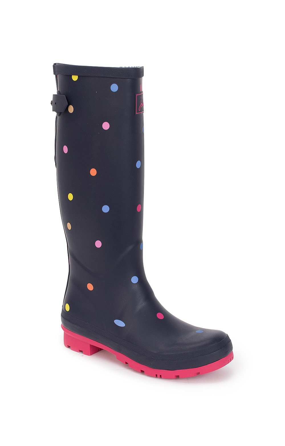 Ladies Joules Printed Welly with Gusset - House of Bruar 092428cb5