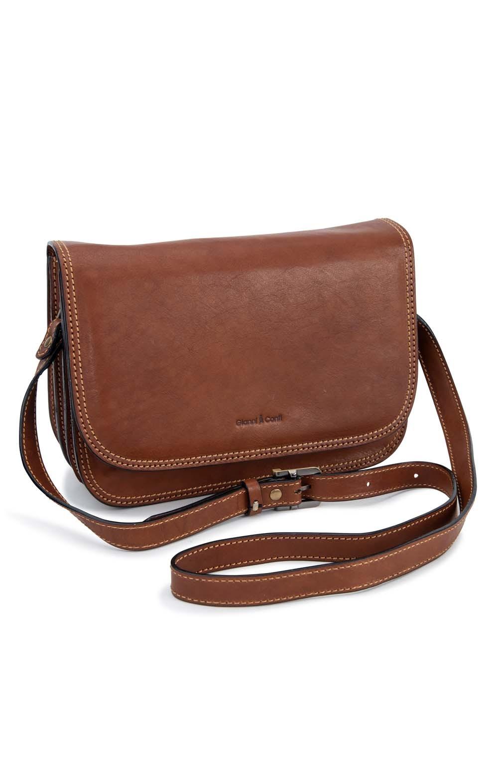 Las Gianni Conti Medium Flapover Bag