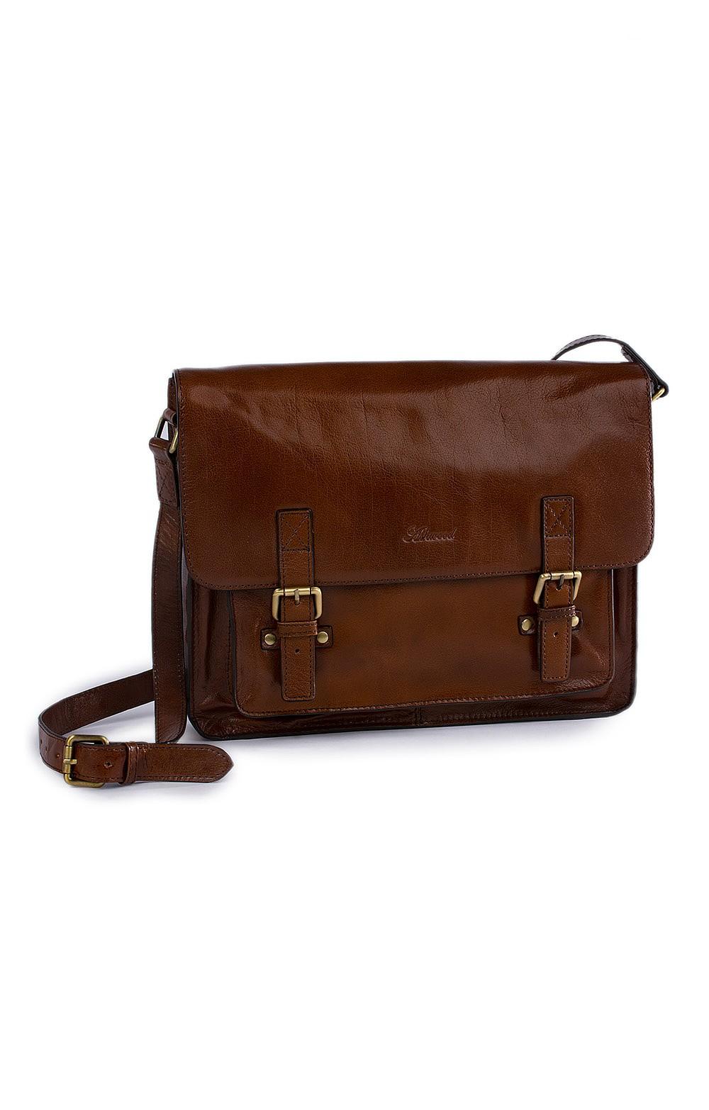 Men S Leather Satchel Bag