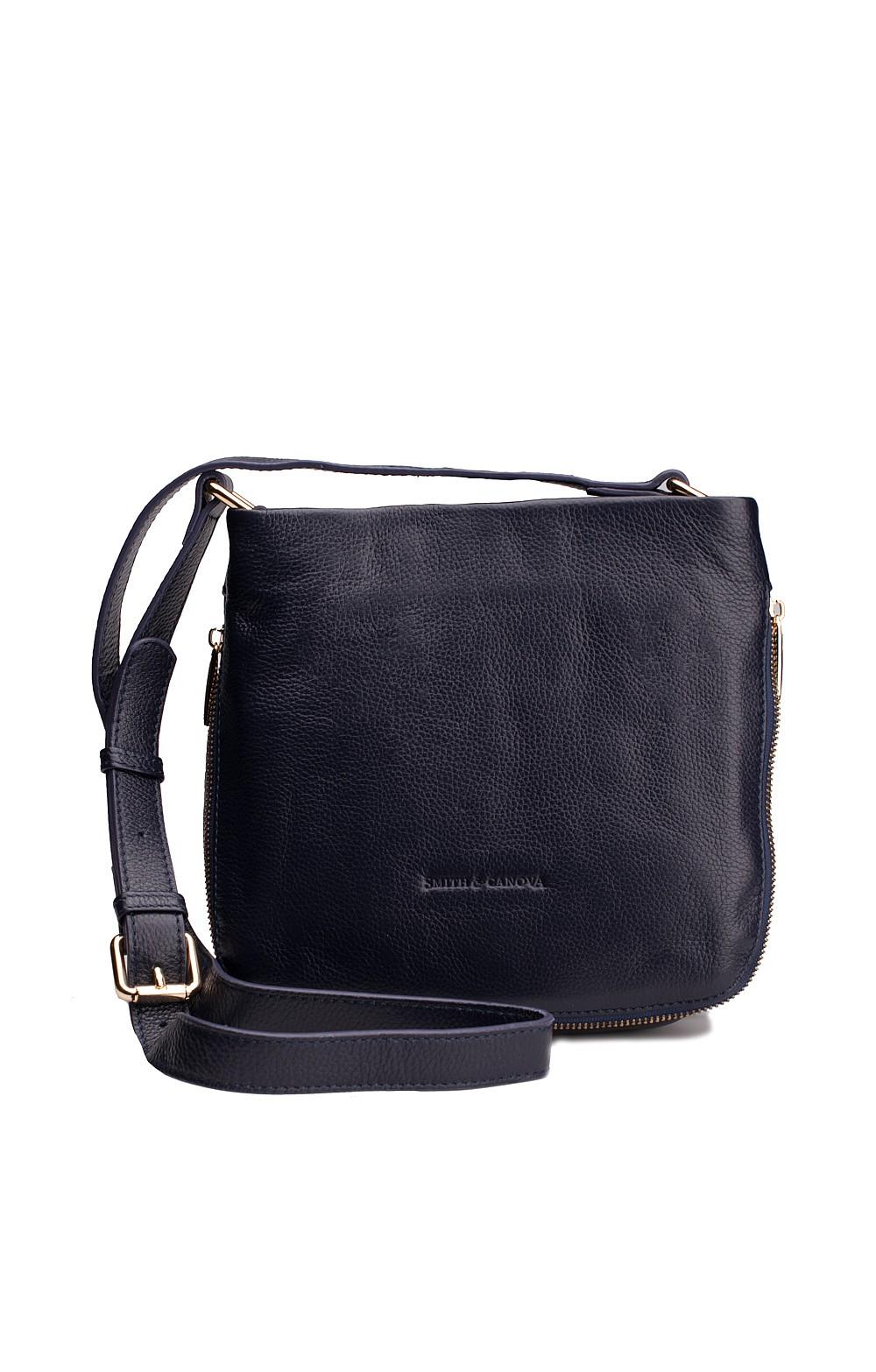 Smith and Canova Zip Side Cross Body Bag - House of Bruar 79cd138e42232