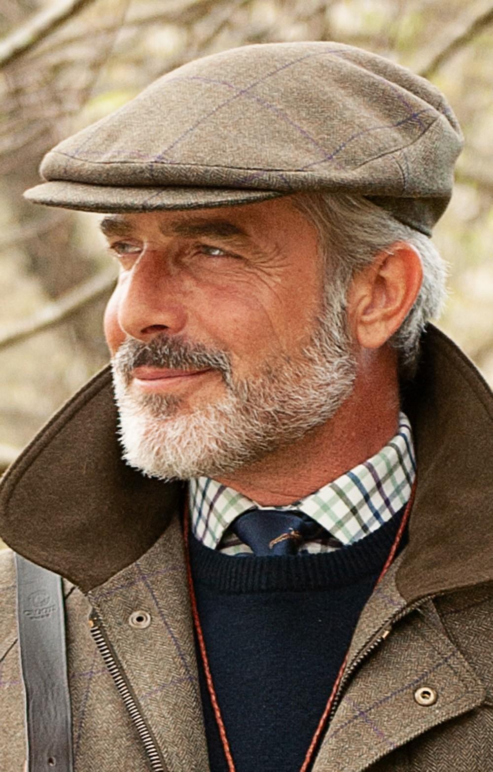 Men s Tweed Bond Cap - House of Bruar 2ec300f38a8