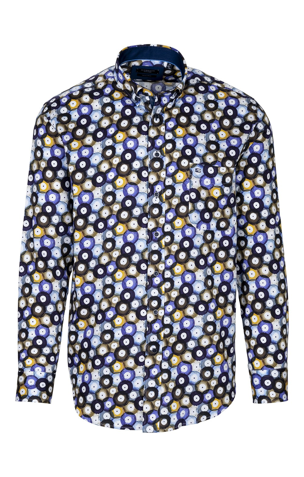 169f7a3fd1617e Mens Baileys Cotton Print Shirt - House of Bruar