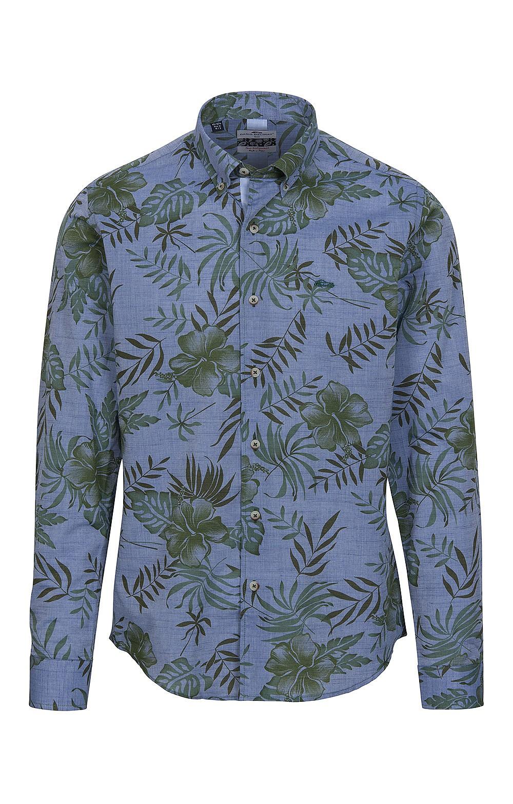 8c75a7ceb411d0 Men's Dario Beltran Long Sleeve Printed Cotton Shirt - House of Bruar