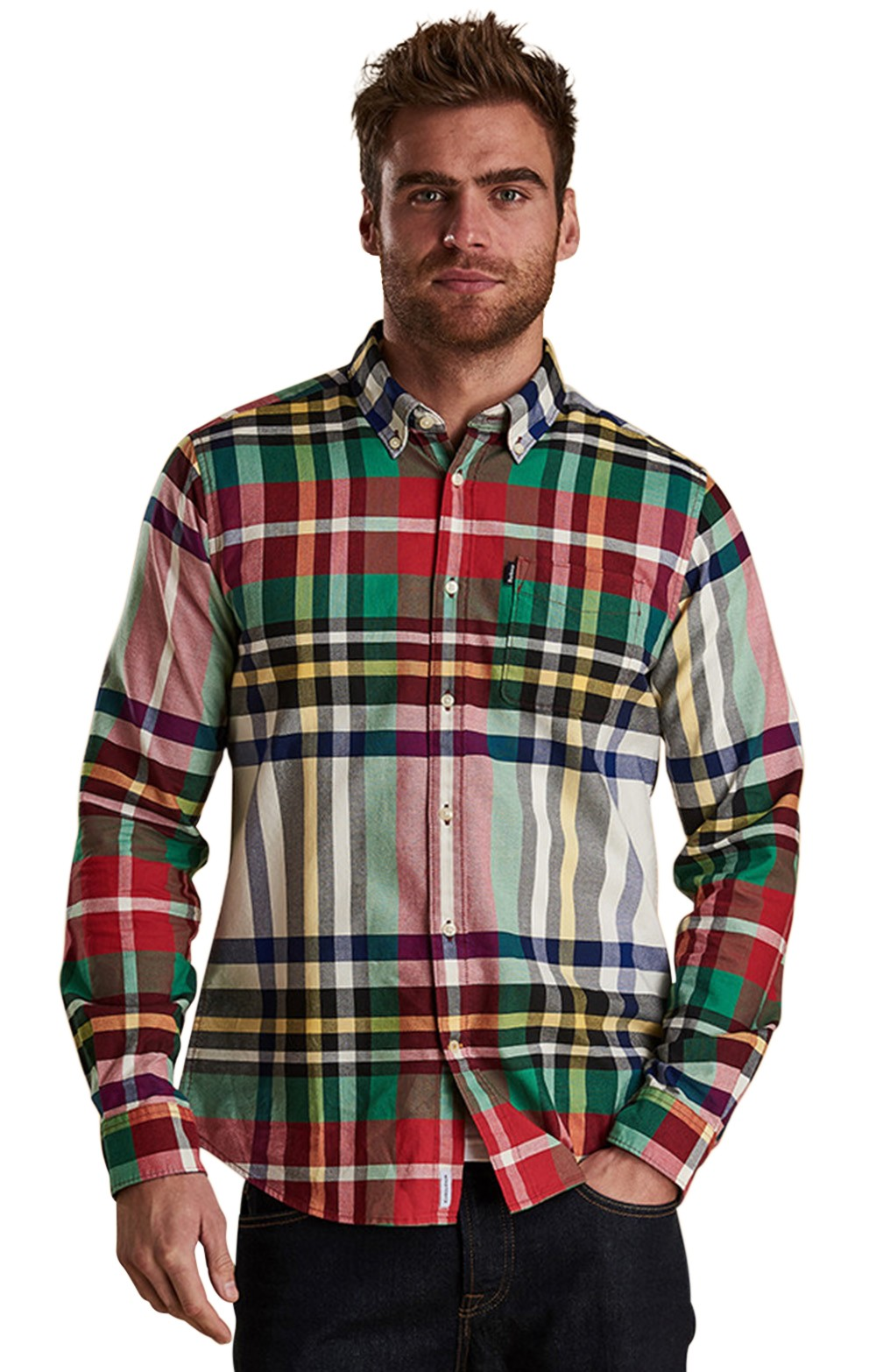 5d55b5d1ad21 Mens Barbour Highland Two Tailored Shirt - House of Bruar