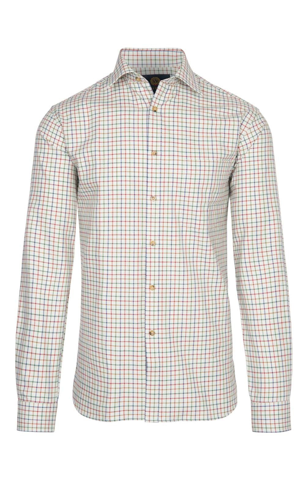 Mens Viyella Cotton Wool Blend Shirt House Of Bruar