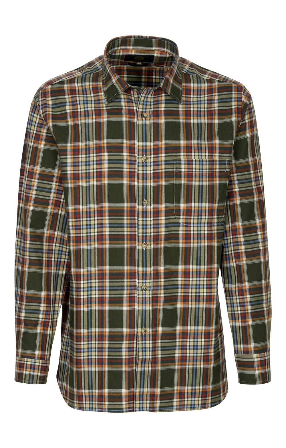 c76c6ea3 Mens Viyella Cotton/Wool Blend Shirt - House of Bruar