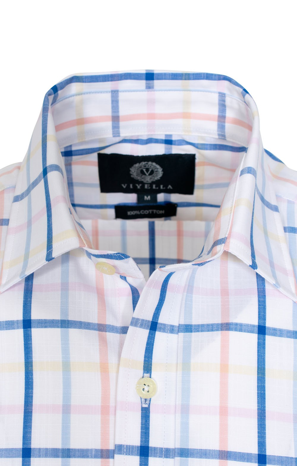 Mens Viyella Short Sleeve Cotton Spring Shirt House Of Bruar