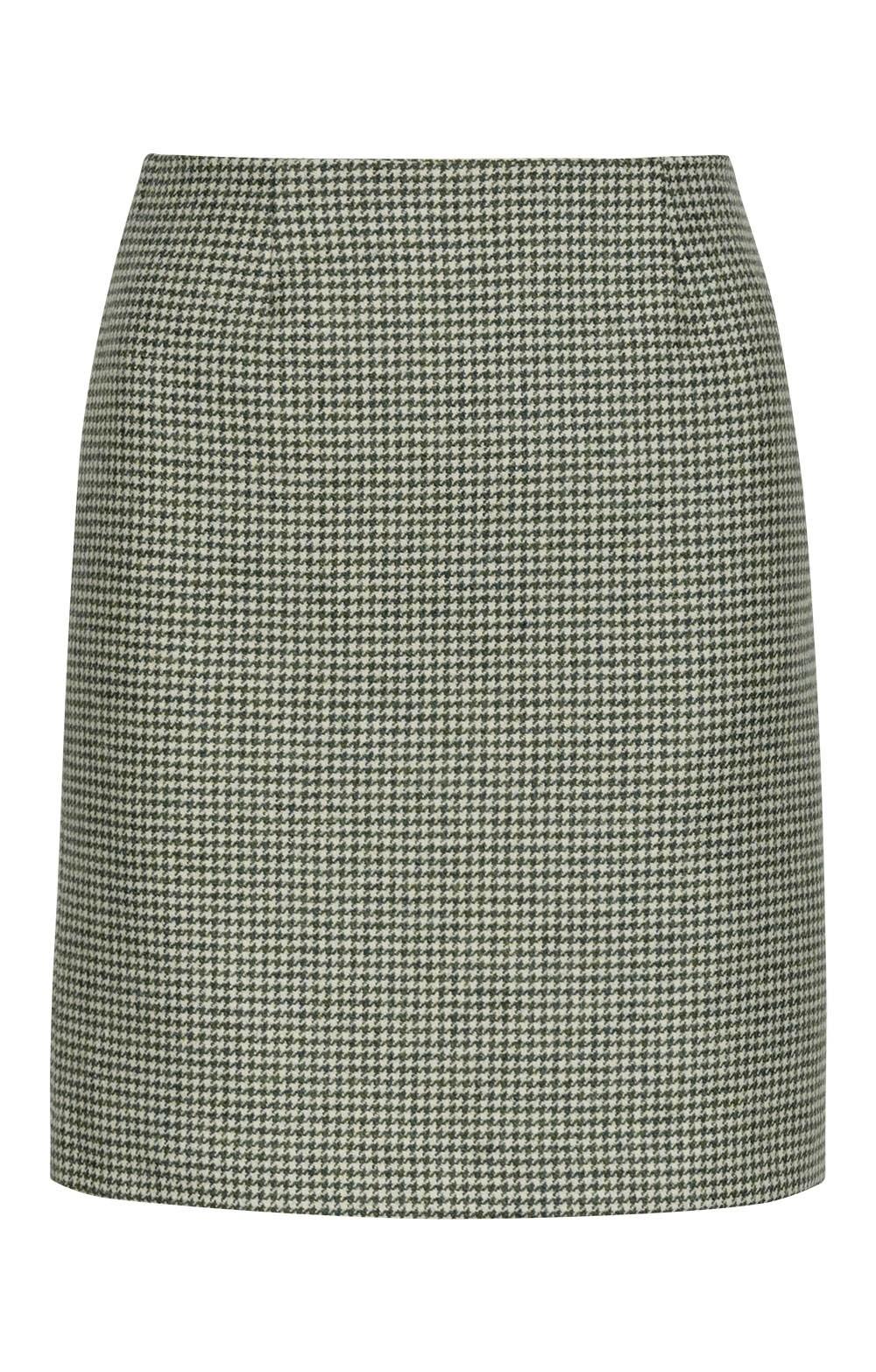 a9c5a19e1962 Puppytooth Straight Skirt - House of Bruar