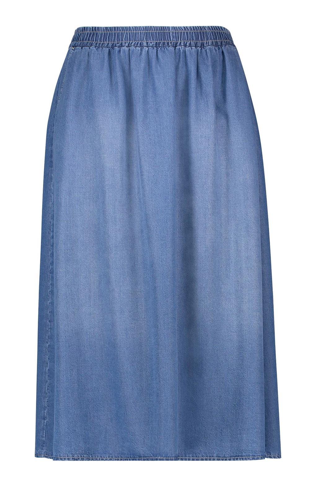 fcd84a1c10 Ladies Gerry Weber Tencel Denim Skirt - House of Bruar