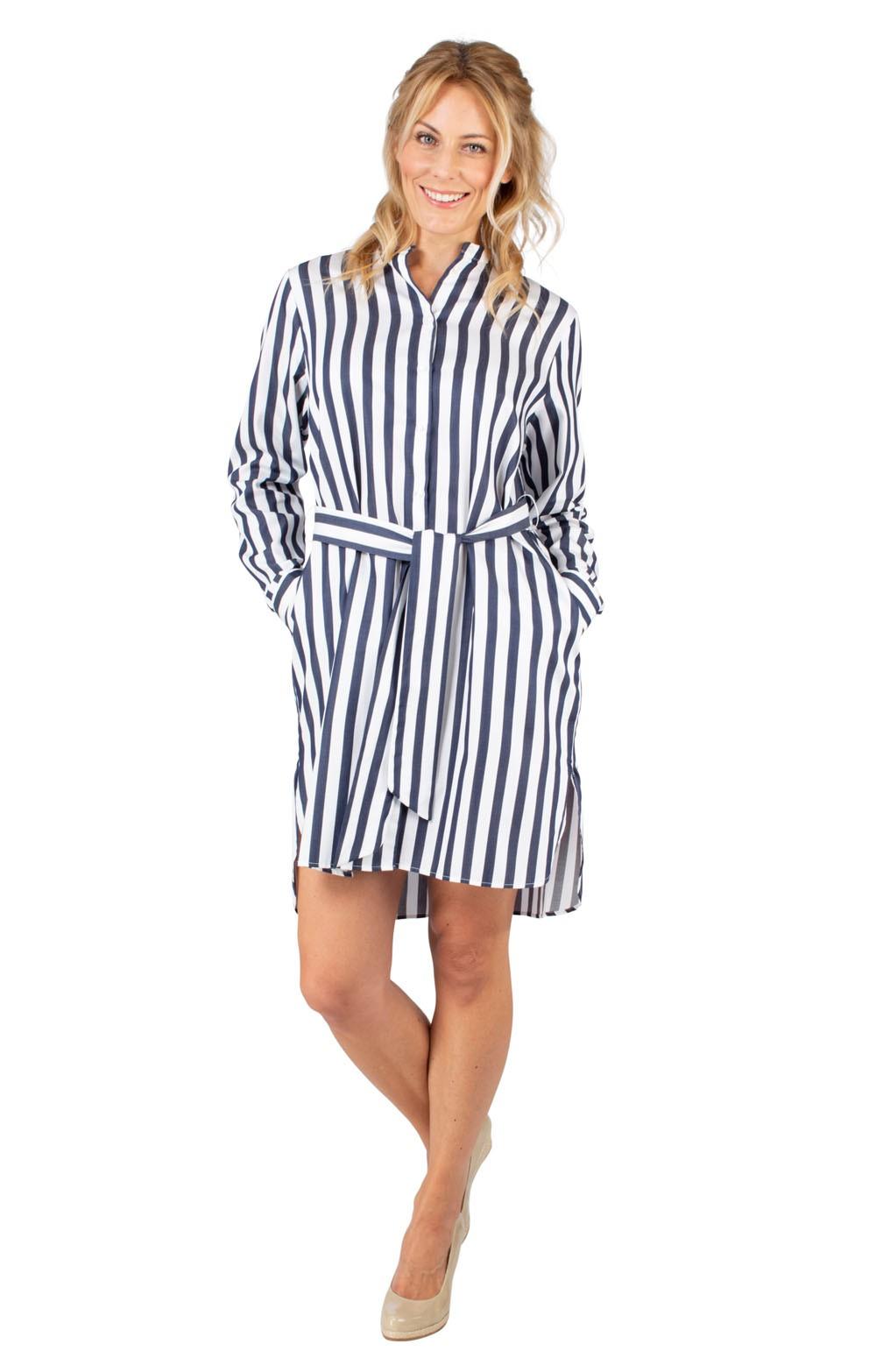 2e81871504a634 Ladies Seidensticker Stripe Dress - House of Bruar