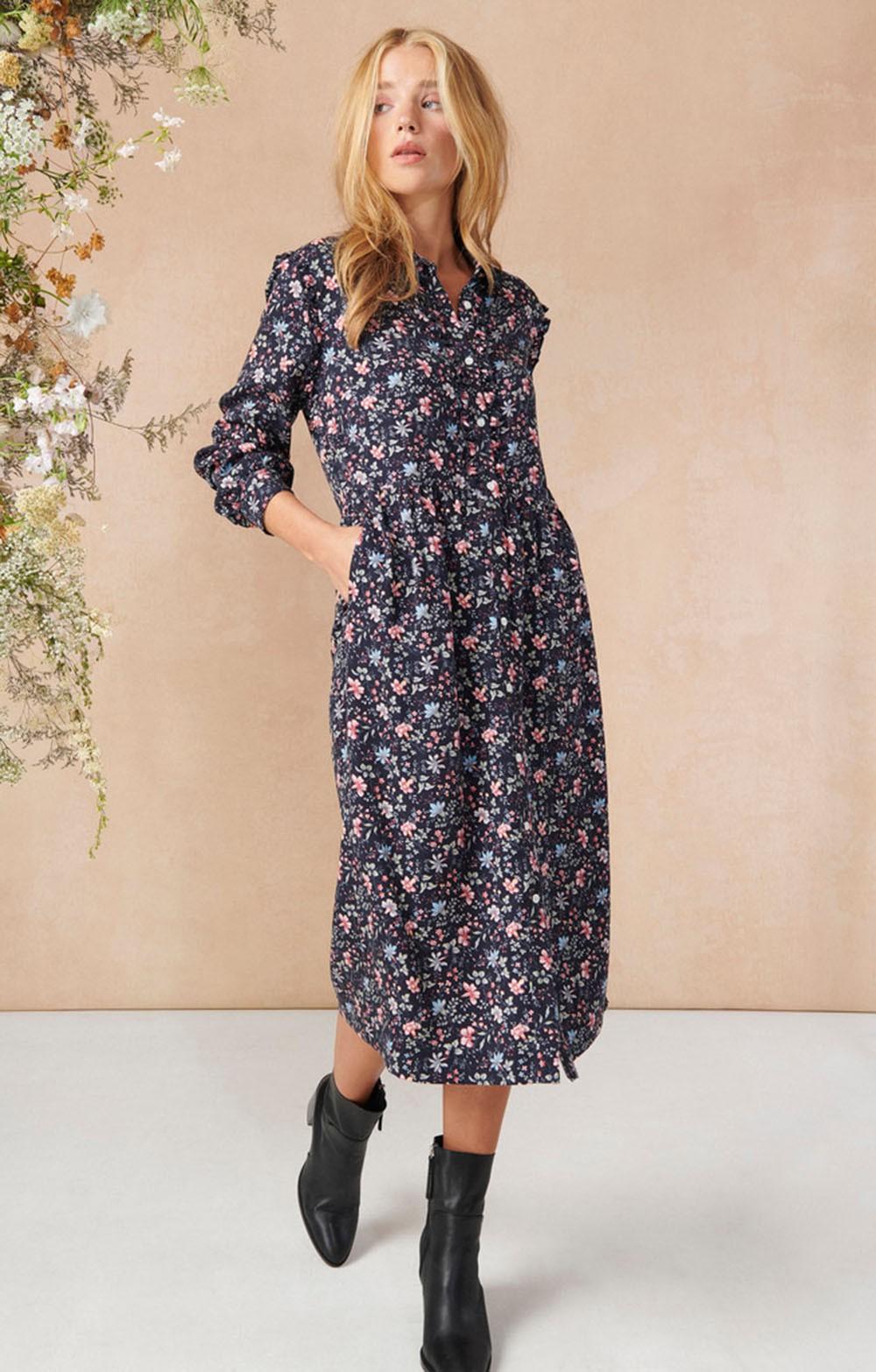 Ladies Barbour Laura Ashely Elm Dress