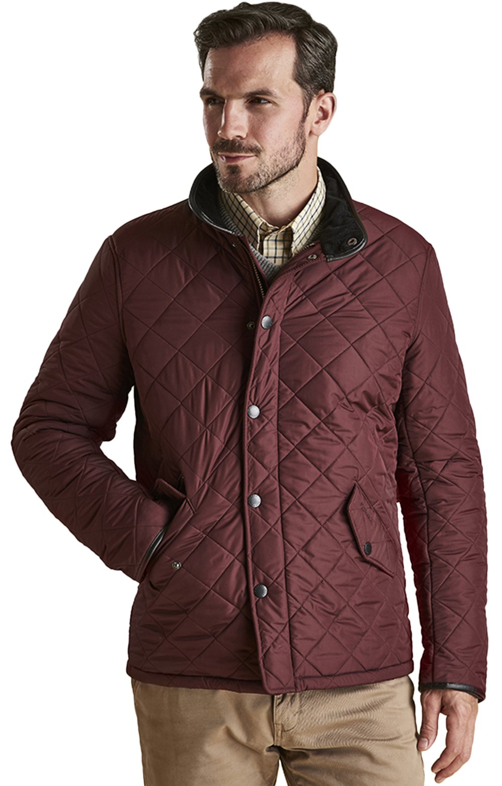 09f161eb9429 Mens Barbour Powell Quilted Jacket