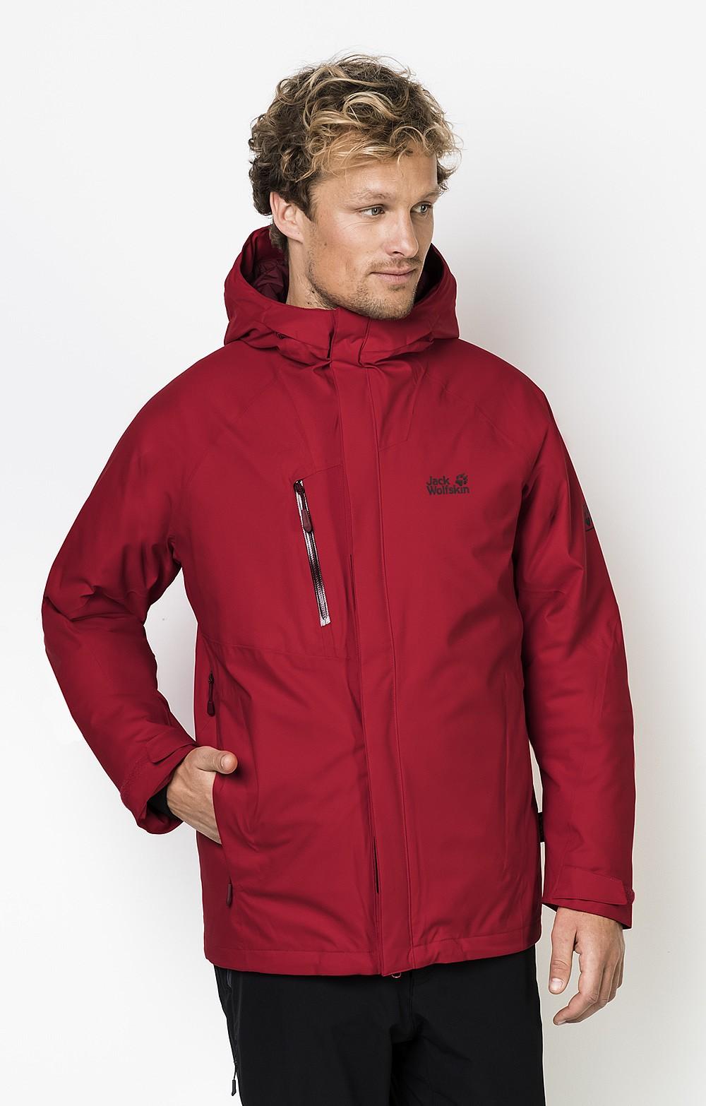 jack wolfskin troposphere down waterproof mens jacket