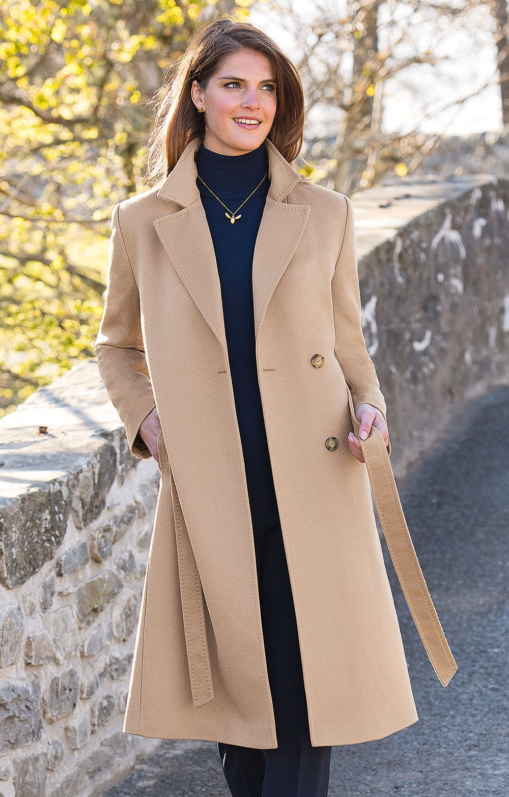 buying cheap authentic speical offer Cashmere Wrap Coat