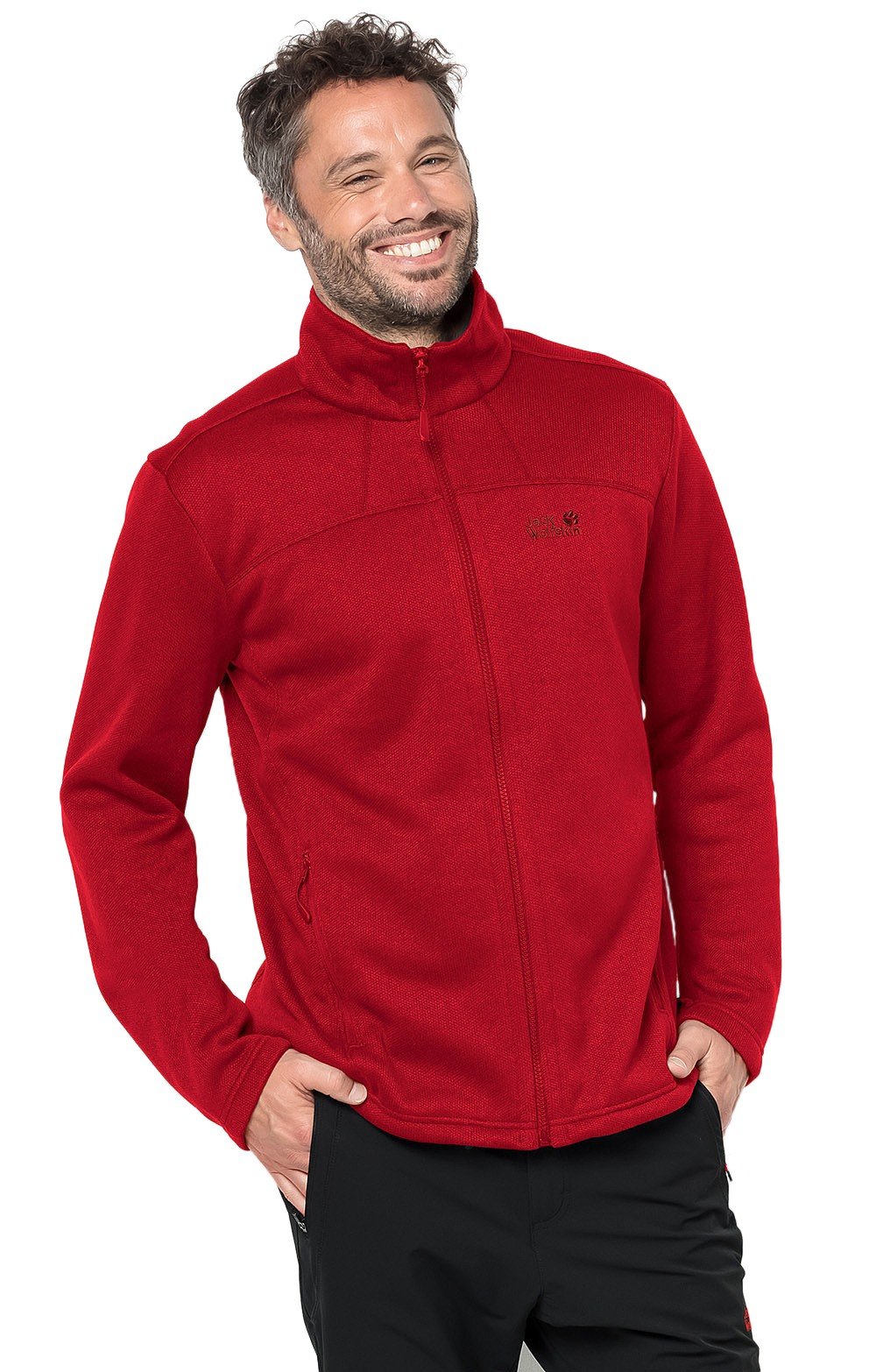 low cost 73901 549a4 Men's Jack Wolfskin Castle Rock Fleece