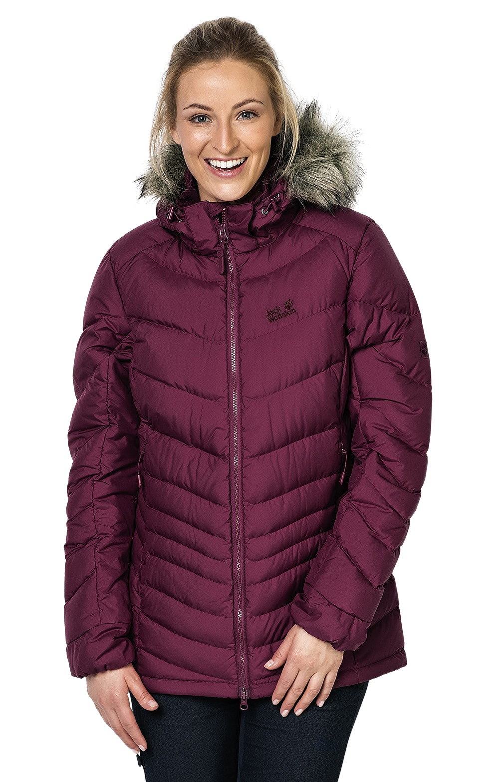 e9ca92fb88 Ladies Jack Wolfskin Selenium Bay Down Jacket | Ladies Down Jackets | House  Of Bruar